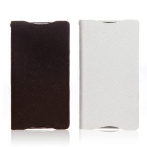 お取り寄せ Xperia zl2 ケース カバー Zenus Prestige Minimal Diary プレステージミニマルダイアリー レザーケース スマホケース|option