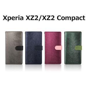 Xperia XZ2 ケース Xperia XZ2 Compact ケース 手帳型 HANSMARE CALF Diary エクスペリア エックスゼット コンパクト SO-03K SOV37 SO-05K 801SO お取り寄せ|option