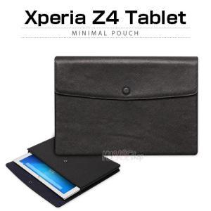 お取り寄せ Xperia Z4 Tablet ケース カバー Zenus Minimal Pouch ゼヌス ミニマルポーチ エクスペリア タブレット|option