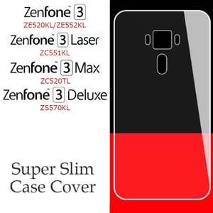 ZenFone3 スマホケース ZenFone3Max ZenFone3Laser ZenFone3Deluxe スリム 薄型 軽い クリア カバー|option