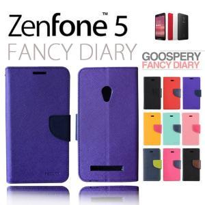 ZenFone5 ケース カバー mercury FANCY DIARY 手帳型 ケース カバー for ASUS ZenFone 5 A500KL スマホケース|option