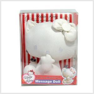 キティ メッセージドール(寄せ書きぬいぐるみ)|誕生日、出産、卒業、結婚式、お祝い|or-box