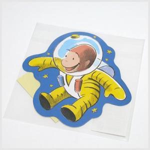 おさるのジョージ/Curious George ダイカットぽち袋(飛行士)|or-box