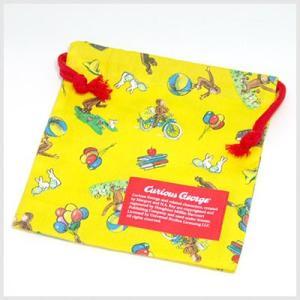 おさるのジョージ ランチ巾着ミニ|ランチグッズ|or-box