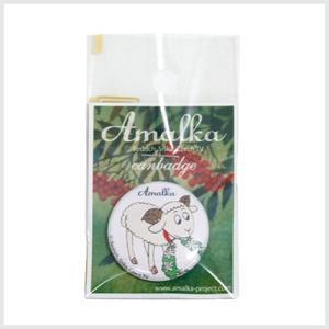 アマールカ缶バッジSサイズ(巻き毛)|アマールカグッズ|or-box