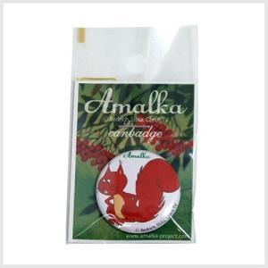 アマールカ缶バッジSサイズ(出っ歯)|アマールカグッズ|or-box