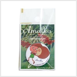 アマールカ缶バッジSサイズ(どんぐりぼうや)|アマールカグッズ|or-box