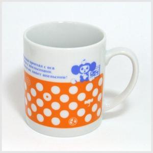チェブラーシカグッズ チェブラーシカマグカップ(オレンジ図柄)|マグカップ|or-box
