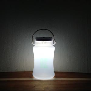 【期間限定Pアップ】SOLR LANTERN GO GREEN  防水 被災 災害 防災 グッズ 間接照明 映え ソーラーランタン|or-select