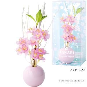 はなりディフューザー チェリーピンク 桜の香り かわいい ディフューザー ギフト カメヤマ|oraho