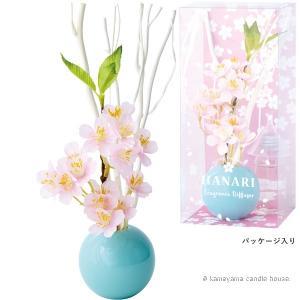 はなりくディフューザー パウダーピンク 桜の香り かわいい ディフューザー ギフト カメヤマ|oraho