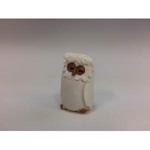 ふくろう 置物 右羽 縁起物 インテリア小物 エクステリア小物|oraho