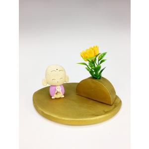 かわいい 癒しのお地蔵さま 置物 花いちりん|oraho