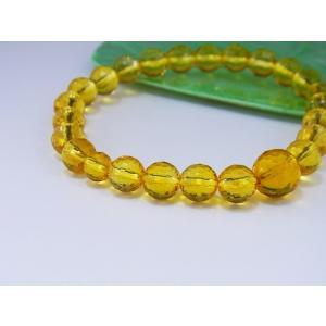 腕輪 ブレスレット 黄水晶 天然石 oraho
