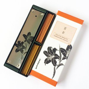 日本の色 スティック香立セット 百合襲 山田松香木店 |oraho