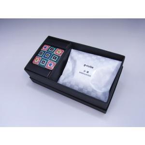 九谷焼 香箱 g-cube 石畳文|oraho