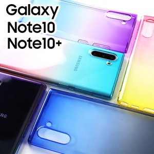 Galaxy Note10+ ケース グラデーション カバー plus Note10 グラデーション...