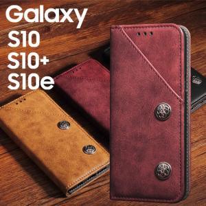 ◆商品情報◆ スマホケース Galaxy S10 ケース 手帳型 カバー S10 Plus 手帳 ケ...