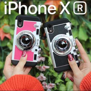 ◆商品情報◆ スマホケース iPhone XR ケース スマホカバー アイフォンXR カメラ型ケース...