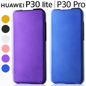 Huawei P30 Lite ケース 手帳型 HWV33 HW-02L P30Pro ミラー カバ...