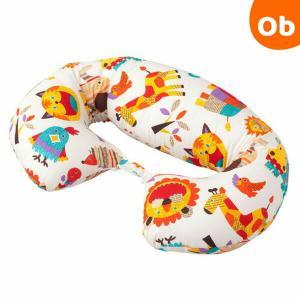 フジキ ZOO ロングクッション ホワイト|orange-baby