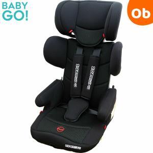 BabyGo!  モンレーヴプロシャンHO-004 ブラック×ホワイト ポータブルカーシート ISOFIX・シートベルト兼用  折り畳み 1〜11歳頃|ORANGE-BABY