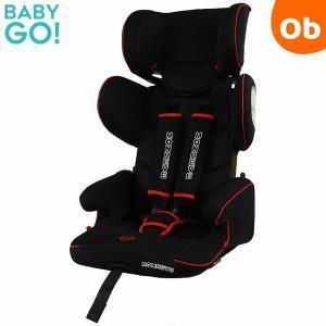 BabyGo!  モンレーヴプロシャンHO-003 ブラック×レッド ポータブルカーシート ISOFIX・シートベルト兼用  折り畳み 1〜11歳頃ま|ORANGE-BABY