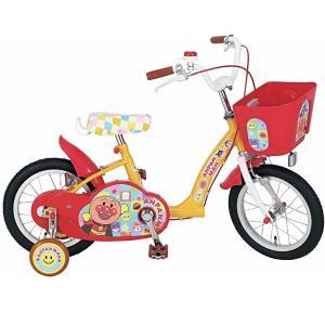 エムアンドエム それいけ!アンパンマン 14インチ 自転車 M&M【ラッピング不可商品】【送料無料 沖縄・一部地域を除く】|orange-baby