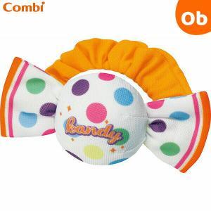 まだしっかり握れない時期の赤ちゃんの手首にも付けられるバンド付き。左右のフリルにはカサカサ音、振ると...