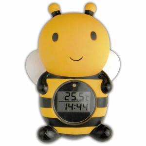 パパジーノ ルーム&バスサーモメーター(デジタル式)みつばち RBTM002|orange-baby