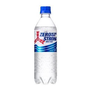 ゼロ ストロング  三ツ矢サイダー 500mlペット×24本 アサヒ飲料 ゼロカロリー 炭酸 サイダ...