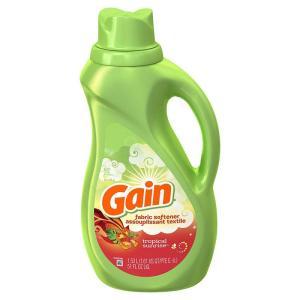 ゲイン ソフナー 柔軟剤 トロピカルサンライズ 1530ml ゲイン(Gain) orange-heart