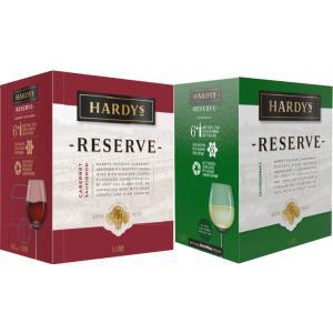 5L ワイン ハーディーズ  BOXワイン 選べる シャルドネ(白)とカベルネ・ソーヴィニヨン(赤)  コストコ|orange-heart