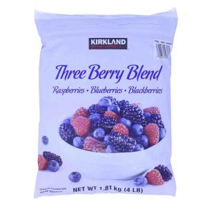 スリーベリーKIRKLAND カークランド ネイチャーズ スリーベリーブレンド 1.81Kg 冷凍品コストコ