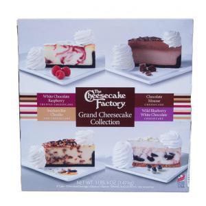 12P グランド チーズケーキ コレクション 1.47kg 4種類 ×3P コストコ ザ・チーズケーキ ファクトリー 【冷凍】