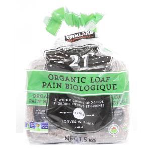 送料無料(東北〜中部)有機食パン 21穀オーガニックパン 765g×2(4斤分) コストコ ORGA...