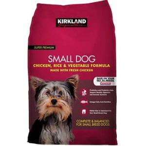 ドッグフード 小型犬用 チキン/ライス/ベジタブル 9.07kg カークランドシグネチャー |orange-heart