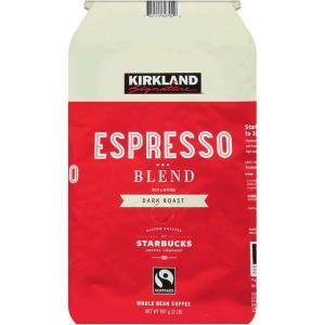 コーヒー豆 エスプレッソブレンド(赤) スターバックス コーヒー豆 907g カークランド コストコ...