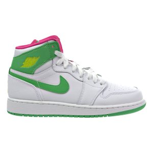 NIKE ナイキ Air Jordan 1 エアジョーダンワン White Green Pink 3...