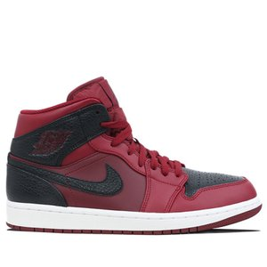 【状態】 新品  AIR JORDAN 1 メンズ TEAM RED BLACK SUMMIT WH...