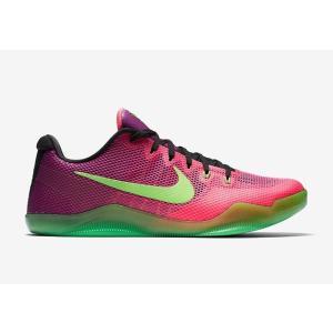 【状態】 新品  Kobe Bryant 11 XI Mambacurial Pink Green ...