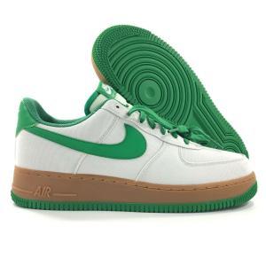 【状態】 新品  NIKE Air Force 1 Green White AJ7282-003 エ...