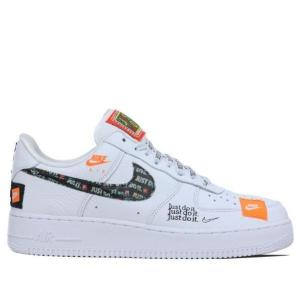 NIKE Nike Air Force 1 07 PRM JDI メンズ  WHITE/BLACK/...
