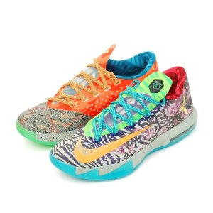 NIKE Nike KD 6 VI Premium What The KD (669809-500) メンズ  MULTI-COLOR/MULTI-COLOR|orange-orange|02