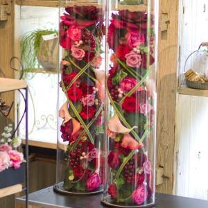 「花の万華鏡」みたいな トロフィー型ウェルカムボードを結婚式のにおけばゲストもきっと絶賛するはず。 ...
