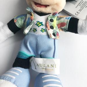 【定形外郵便発送】AULANI Disney アウラニディズニー限定のミッキーマウスとのぬいぐるみキーチェーン。(セットではありません) orange58 02