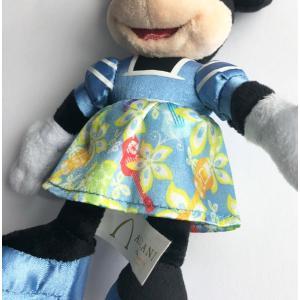 【定形外郵便発送】AULANI Disney アウラニディズニー限定のミッキーマウスとのぬいぐるみキーチェーン。(セットではありません) orange58 03