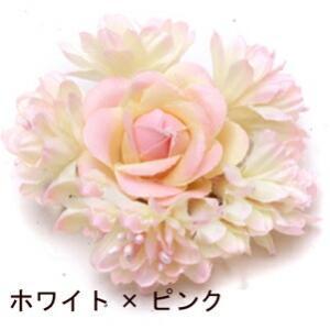 ミニコサージュ  結婚式/花 髪/フォーマル/入園式/卒業式/二次会等に|orange58