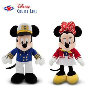 超激レア!Disney cruise line限定商品ミッキーマウス/ミニーマウスぬいぐるみ|orange58