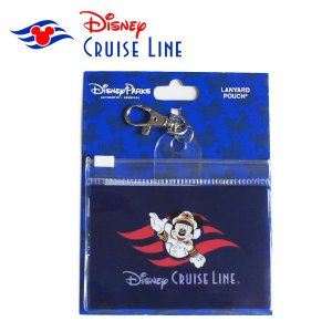 Disney cruise line限定商品 LANYARD POUCH|orange58